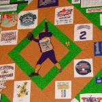 Athlete's t-shirt quilt