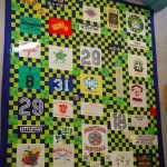 Another graduation gift t-shirt-quilt