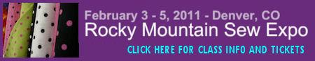 Rocky Mountain Sew Expo